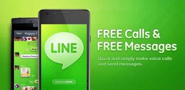 ارسال رایگان اس ام اس و تماس رایگان با LINE: Free Calls & Messages 3.3.7 – اندروید