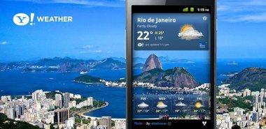 نرم افزار هواشناسی یاهو Yahoo! Weather v1.0.9 – اندروید