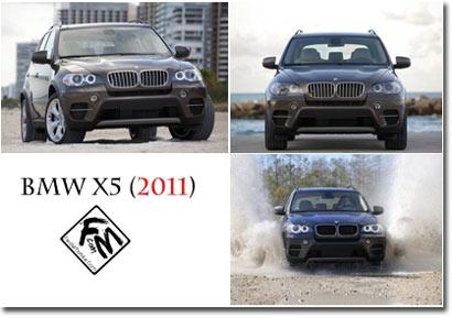 مجموعه پس زمینه های بزرگ از BMW X5 2011