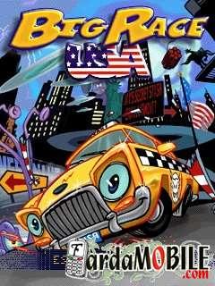 بازی موبایل Big Race USA به صورت جاوا برای دانلود