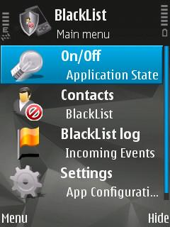 مدیریت تماس و پیامک با BlackList Mobile 1.96 نوکیا