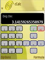 ماشین حساب Calc v1.06 برای گوشی های نوکیا
