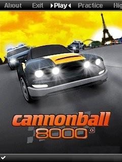 بازی موبایل بسیار زیبای ماشینی به صورت ۳ بعدی Cannonball 8000