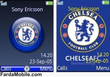 تم چلسی برای گوشی های سونی اریکسون – تم Chelsea برای موبایل