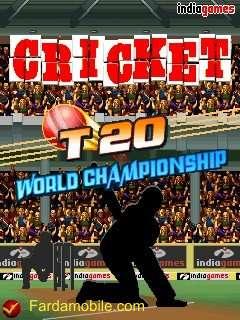 بازی موبایل کریکت به نام Cricket T20 World