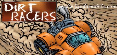 بازی موبایل به صورت جاوا –  Dirt Racers