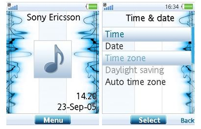 تم سونی اریکسون Enjoy the Music ورژن ۴٫۶ , ۴٫۷ , ۴٫۸