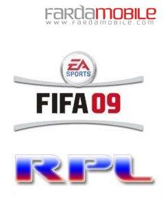 بازی موبایل FIFA 09 RPL – جاوا
