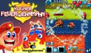 بازی موبایل  Little FireFighter به صورت جاوا