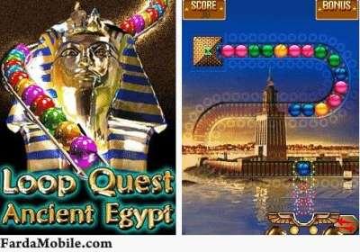 بازی موبایل جدید و بسیار زیبای Loop Quest Ancient Egypt با فرمت java