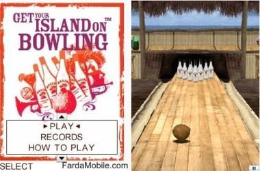 بازی بولینگ موبایل به صورت جاوا Malibu Bowling