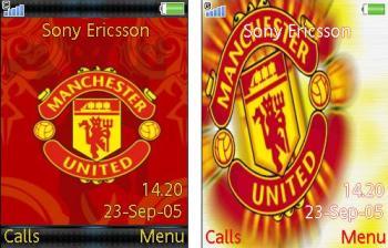 تم موبایل Manchester United برای موبایل – تم منچستر یونایتد برای موبایل