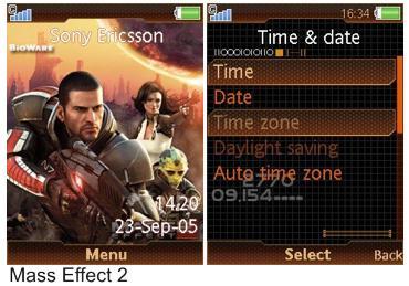 تم سونی اریکسون  Mass Effect 2