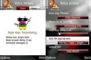 Mobisophy Voice Jockey برنامه منشی تلفنی نوکیا