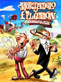 بازی موبایل جاوا Mortadelo y Filemon: Armafollon