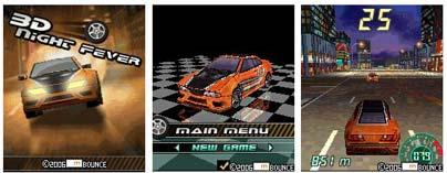 Night Fever 3D – java games