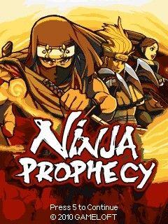 بازی جدید و زیبا و اکشن Ninja Prophecy با فرمت جاوا  – دانلود