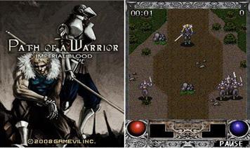 بازی جاوا Path Of A Warrior برای موبایل