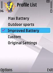 نرم افزار کاهش مصرف باتری Ravensoft Battery Extender v1.08