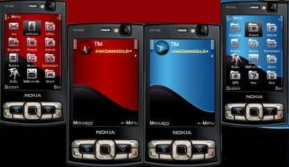 تم بسیار زیبا برای گوشی های N82 – N78 – N95 8gb – N81