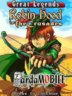 بازی موبایل Robin Hood 2 in the Crusades به صورت جاوا