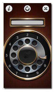 نرم افزار شماره گیر چرخان در تلفن های قدیمی Rotary Dialer