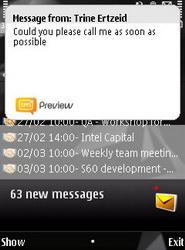 پیش نمایش اس ام اس ها با نرم افزار sms preview برای نوکیا