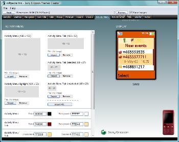 SonyEricsson ThemeCreator3.19 تم ساز سونی اریکسون