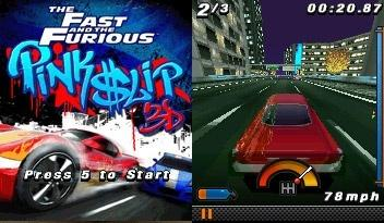 بازی موبایل	The Fast and the Furious: Pink Slip 3D