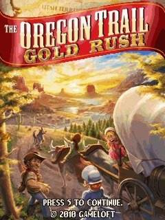 The Oregon Trail 2-Gold Rush