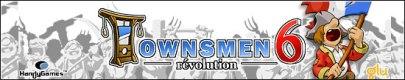 بازی زیبای Townsmen 6. Revolution به صورت جاوا برای موبایل