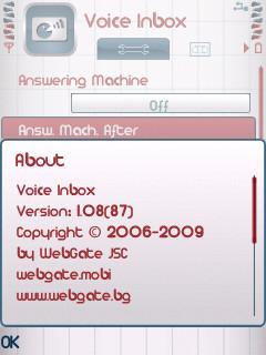 برنامه منشی تلفن برای نوکیا WebGate Voice Inbox v1.09