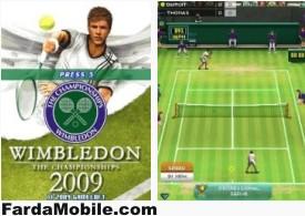 بازی تنیس برای موبایل Wimbledon 2009