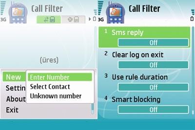 نرم افزار موبایل  محدود کردن تماس ها با برنامه Any Call Filter