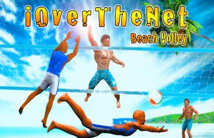 تجربه ی بازی والیبال با iOverTheNet Beach Volley – بازی آیفون