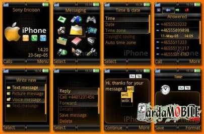 تم سونی اریکسون :iPhone Orange