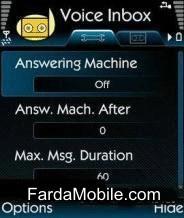 برنامه موبایل منشی تلفنی با Voice Inbox v1.04.45 سری ۶۰ ورژن