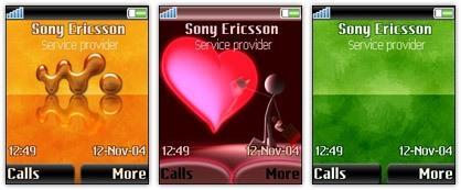 ۳ تم سونی اریکسون ۲۲۰×۱۷۶